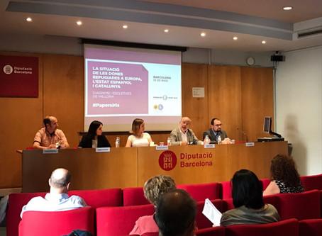 L'eurodiputat i membre de Catalunya Sí Josep Maria Terricabras ha participat a la presentació de l'I
