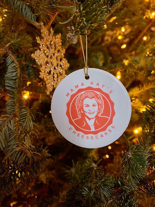 Mama Kay's Cheesecake Christmas Ornament