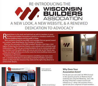 Re-Introducing the Wisconsin Builders Association