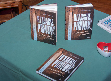 Hľadanie pravdy o dejinách a živote s Dušanom Čaplovičom
