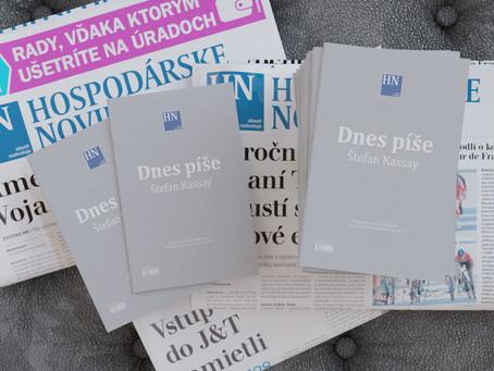 HN komentáre a blogy profesora Štefana Kassaya aj tento rok v knižnej podobe
