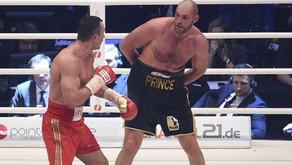 THE LION'S DEN: WLADIMIR KLITSCHKO VS TYSON FURY