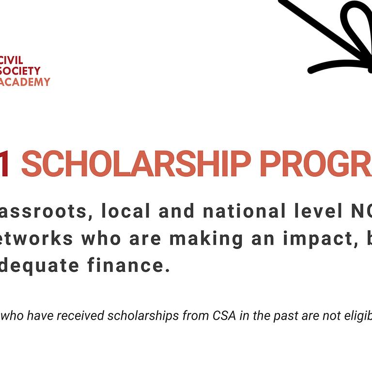 CSA Scholarship Program 2021