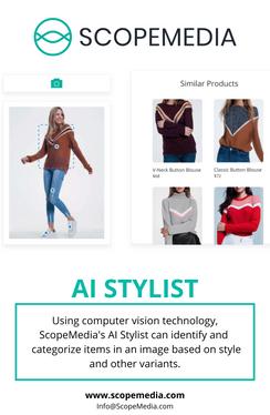 AI Stylist Visual 3