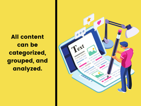 4 Major Types of Content