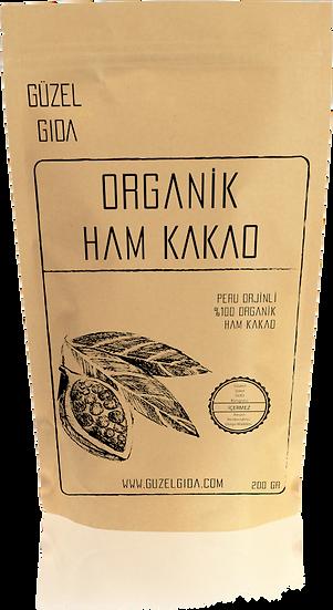 Organik Ham Kakao Tozu 200 gr