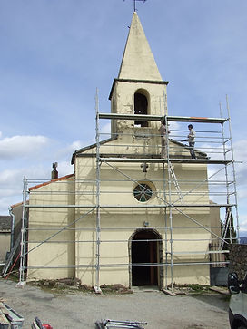 Restauration façade église
