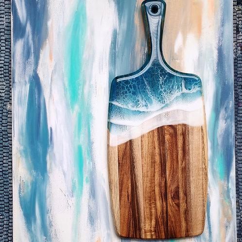 "17"" Ocean Acacia Cheese Board"