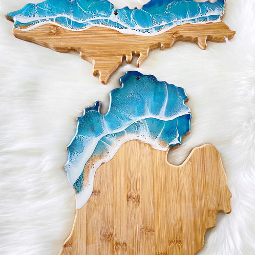 Michigan + the Upper Peninsula