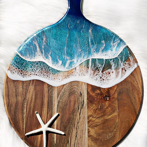 Made -To-Order Blue Wave Ocean Board