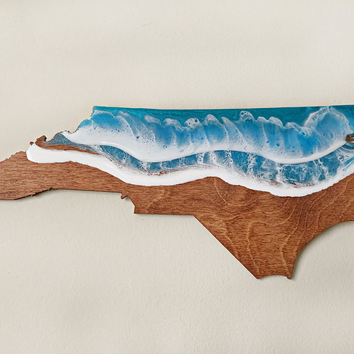 Wooden NC Wall Hanging