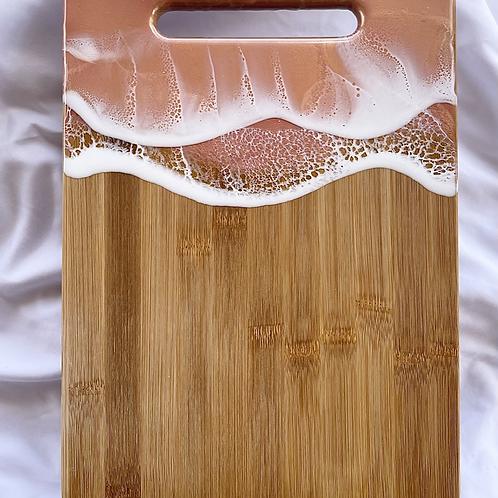 Large Whimsical Rose Gold Ocean Board