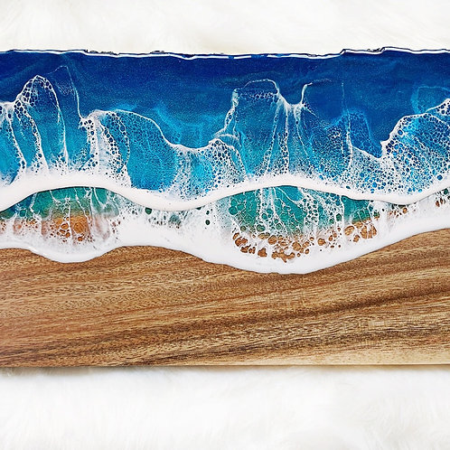 Made - to - Order Raw Edge Ocean Board