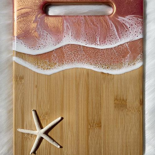 Whimsical Rose Gold Ocean Board