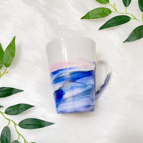 Set of 4 - Custom Bistro Mugs