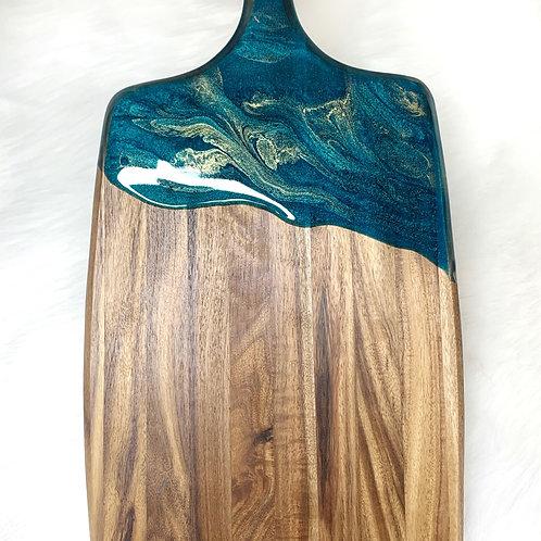 Emerald + Gold Cheese Board