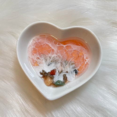 Mini Heart Jewelry Dish