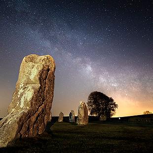Dury - Avebury at Night.jpg