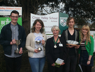 PRIZE GIVING AT CHEW VALLEY SCHOOL
