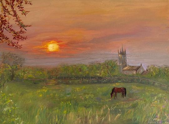 Stephenson - Sunrise Chew Stoke 2 marked