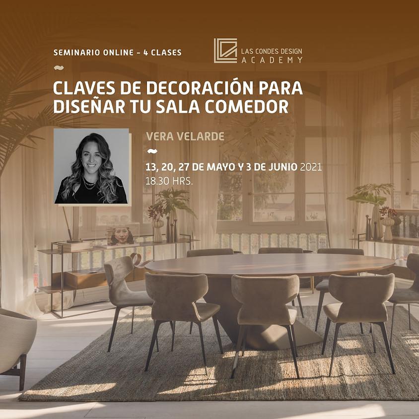 """""""Claves de Decoración para Diseñar tu Sala Comedor"""" por Vela Velarde"""