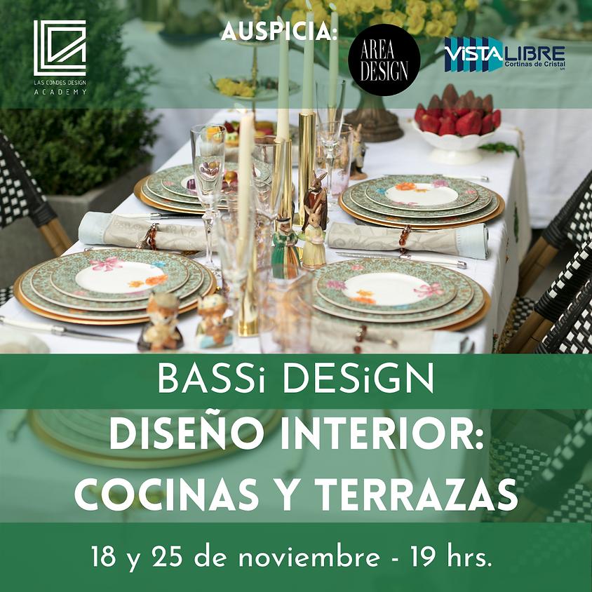 Diseño Interior: Cocinas y Terrazas con Bassi Design