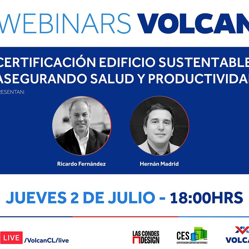 """""""Certificación Edificio Sustentable: Asegurando Salud y Productividad"""" por Ricardo Fernández y Hernán Madrid"""