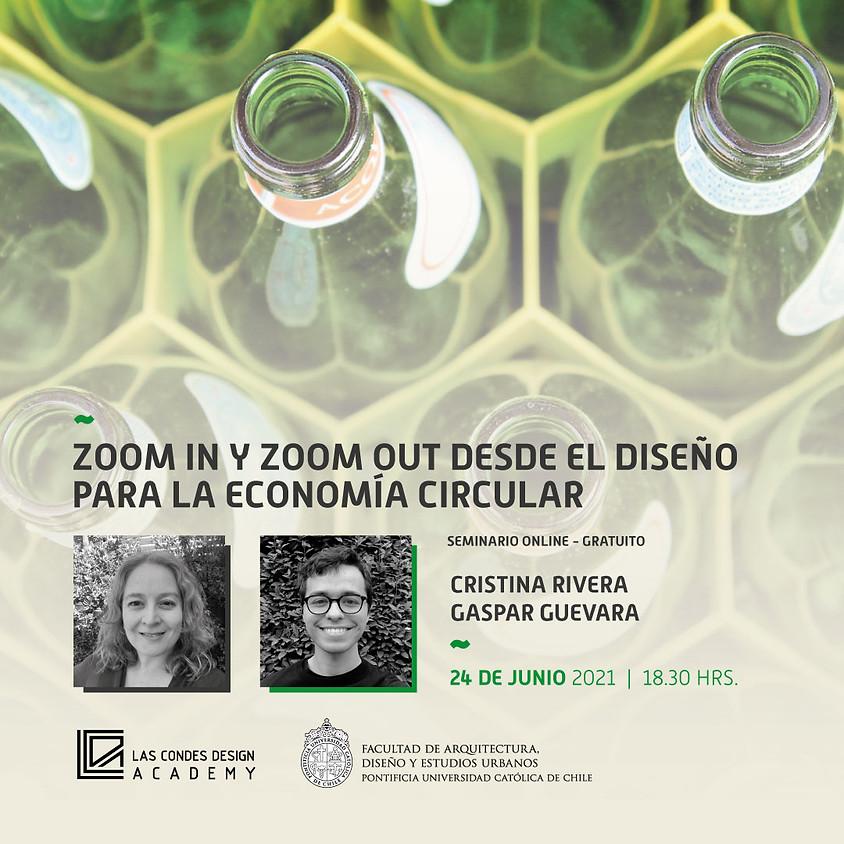 """""""Zoom In y Zoom Out desde el Diseño para la Economía Circular"""" por Cristina Rivera y Gaspar Guevara"""