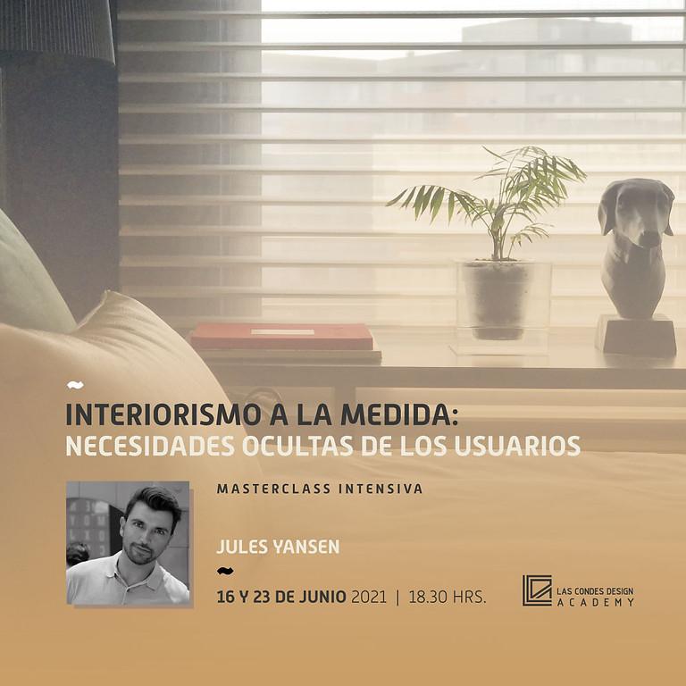 """""""Interiorismo a la medida. Las necesidades ocultas de los usuarios"""" por Jules Yansen"""