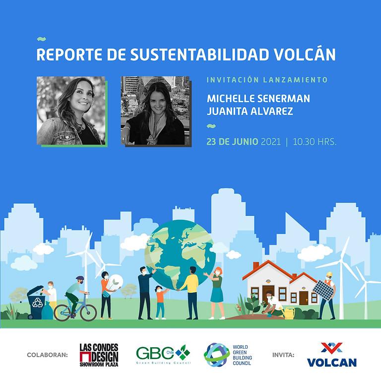 Volcán: Lanzamiento V Reporte de Sostenibilidad