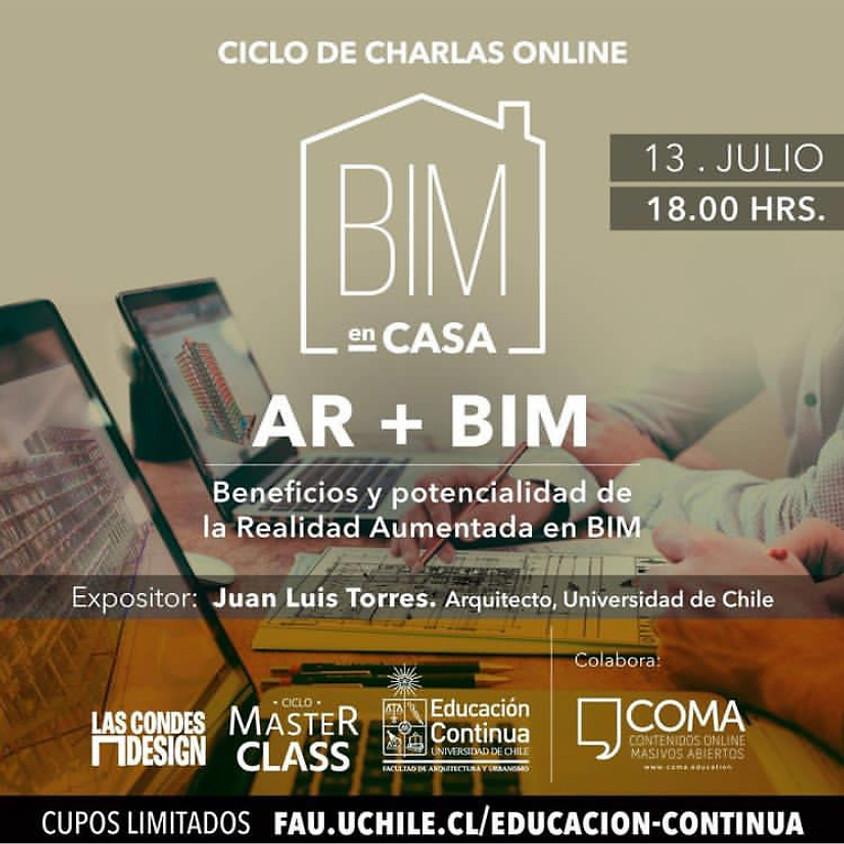 """BIM en Casa: """"Beneficios y Potencialidad de la Realidad Aumentada BIM"""" por Juan Luis Torres"""