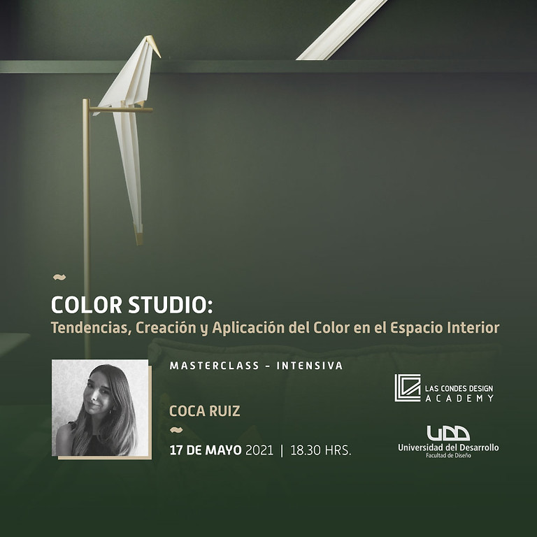 """""""Color Studio: Tendencias, Creación y Aplicación del Color en el Espacio Interior"""" por Coca Ruiz"""