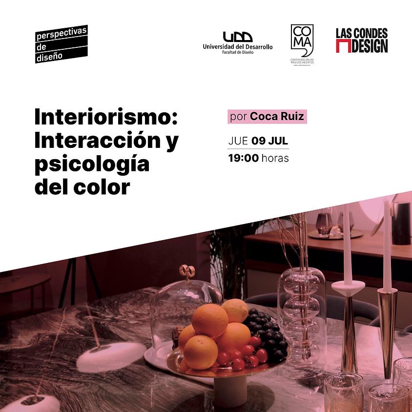 """""""Interiorismo: Interacción y psicología del color"""" por Coca Ruiz"""