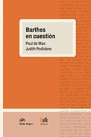 De Man • Podlubne - 2020 - Barthes en cu