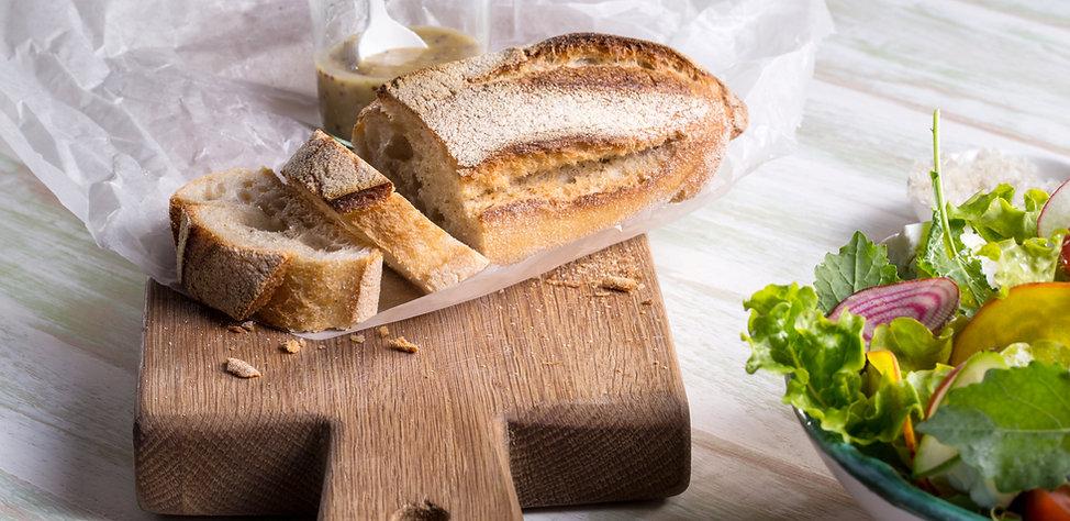 Rustikk Loaf og Breadboard