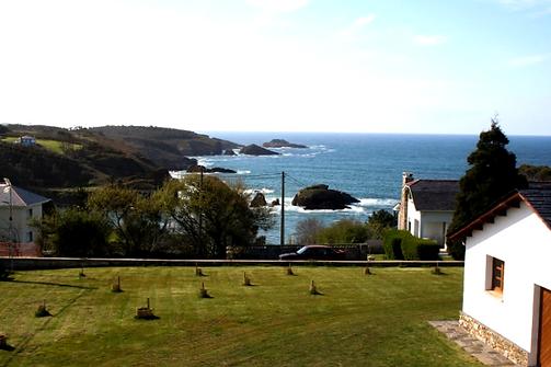 Vistas al mar desde Casa Tésera