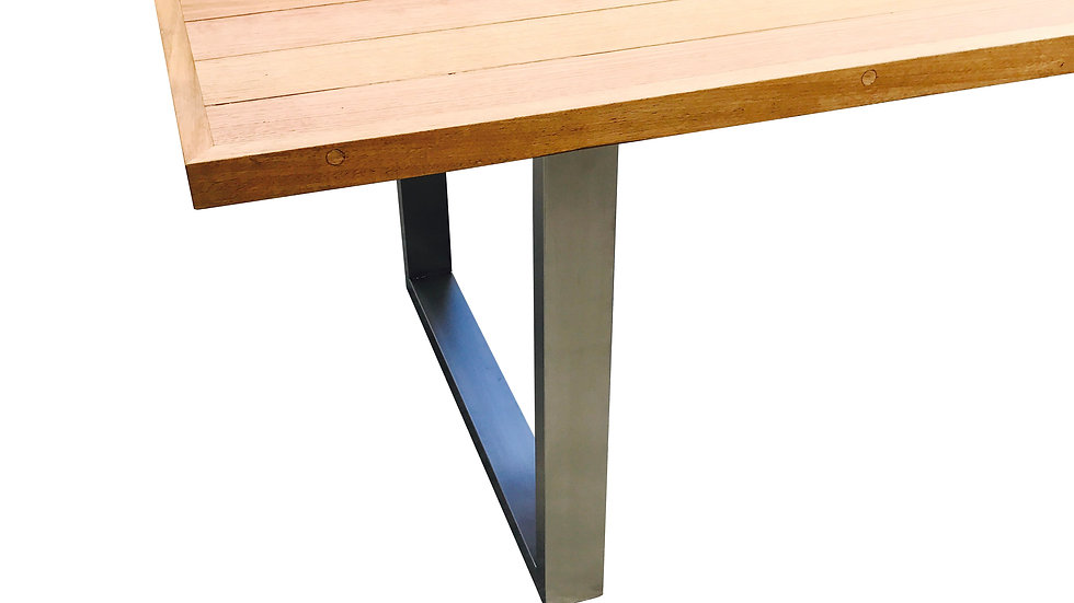 Stainless Steel Square Frame Table Legs
