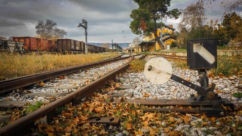 Abonded rail station