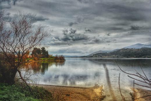 Reflections At The Lagoon