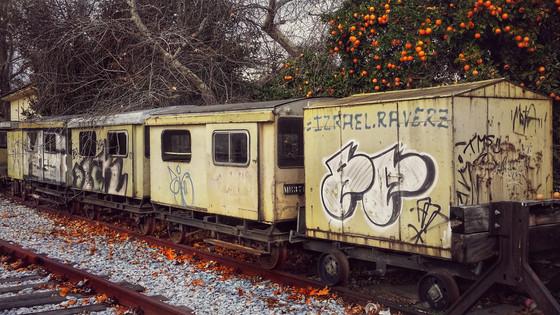 Old Yellow Train