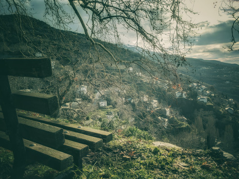 Bench On The Mountain