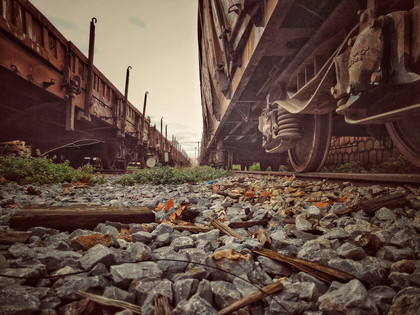 Among The Old Trains