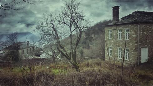 Stone House On The Mountain