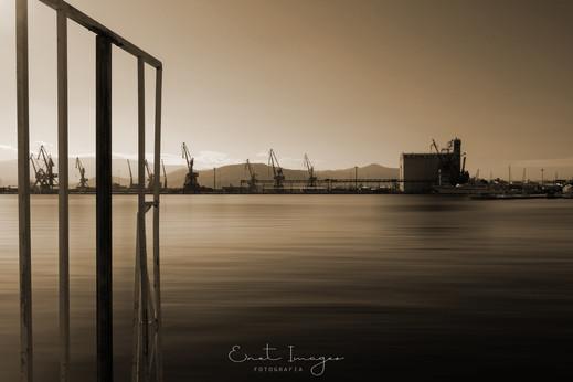 Cranes At The Harbor