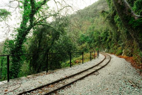 Railway On The Mountain