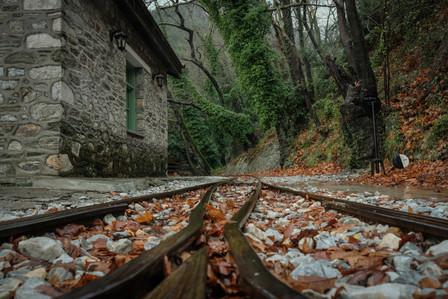 Rail station on the mountain