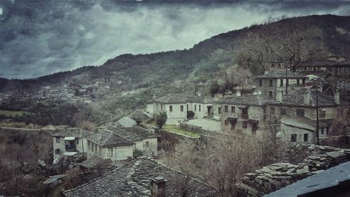 Stone Village On The Mountain
