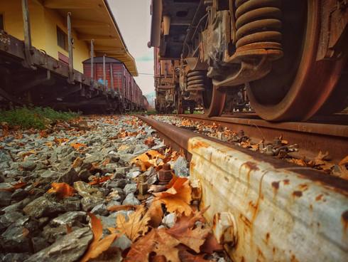 On The Rusty Rails
