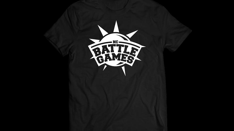 White on Black Logo Shirt