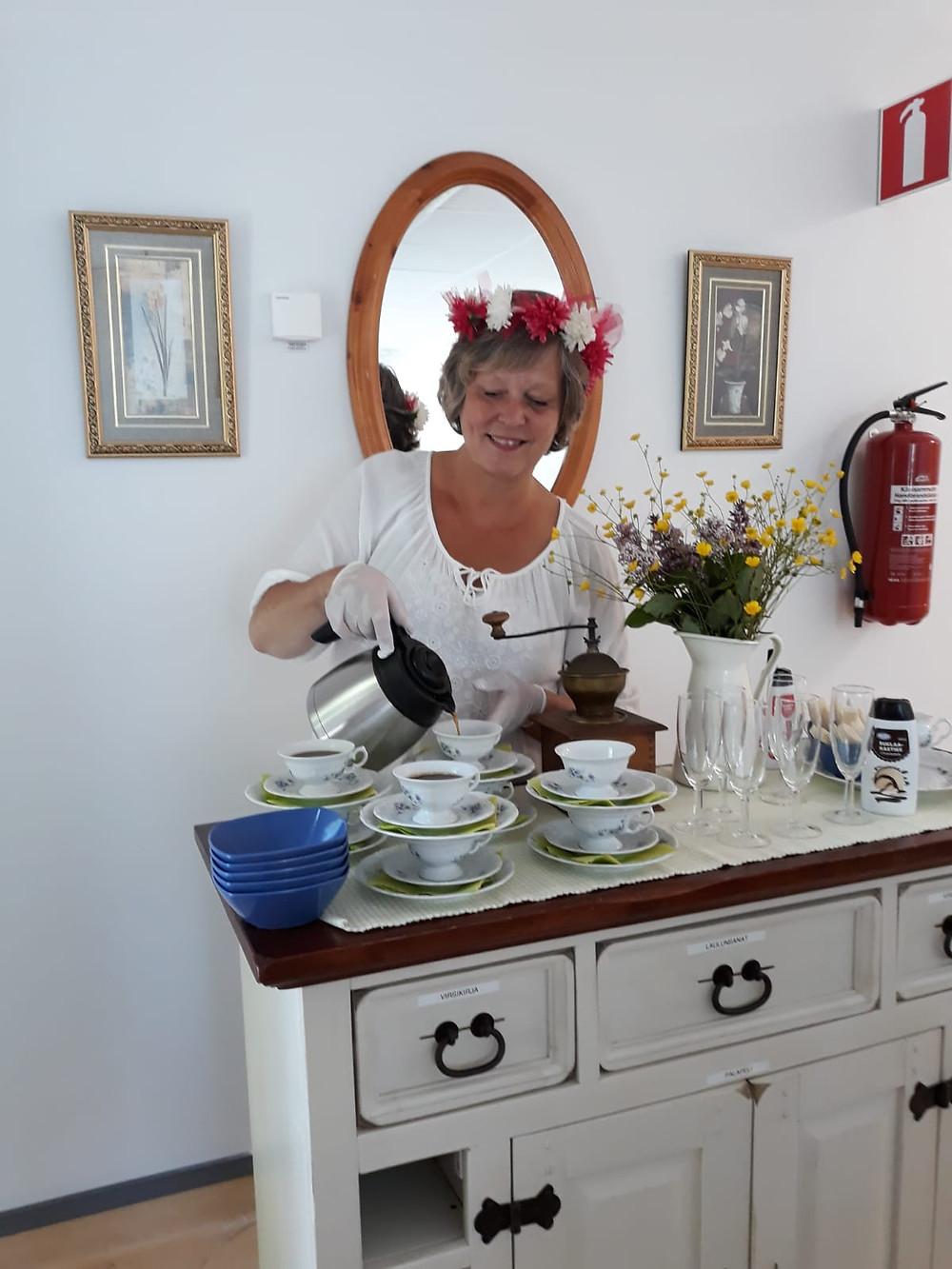 Värdinnan på Café Koppen